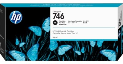 HP 746 300-ml Photo Black DesignJet Ink Cartridge