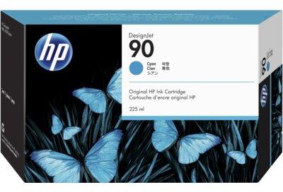 HP 90 225-ml Cyan DesignJet Ink Cartridge