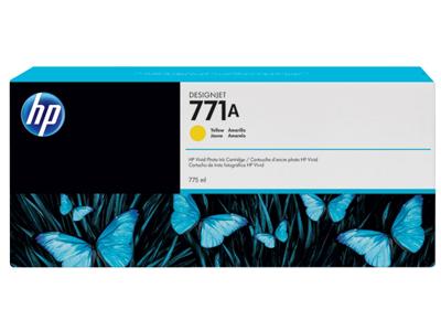 HP 771A 775-ml Yellow DesignJet Ink Cartridge