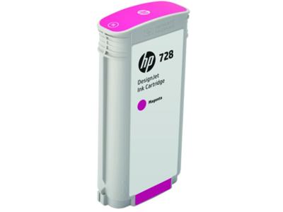 HP 728 130-ml Magenta DesignJet Ink Cartridge