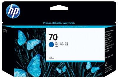 HP 70 130-ml Blue Ink Cartridge
