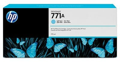 HP 771A 775-ml Light Cyan DesignJet Ink Cartridge
