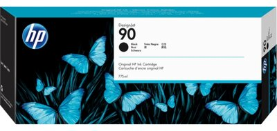 HP 90 3-pack 775-ml Black Ink Cartridges