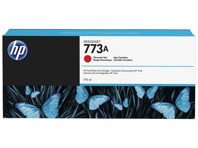 HP 773A 775-ml Chromatic Red DesignJet Ink Cartridge