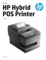 HP Hybrid POS Printer with MICR