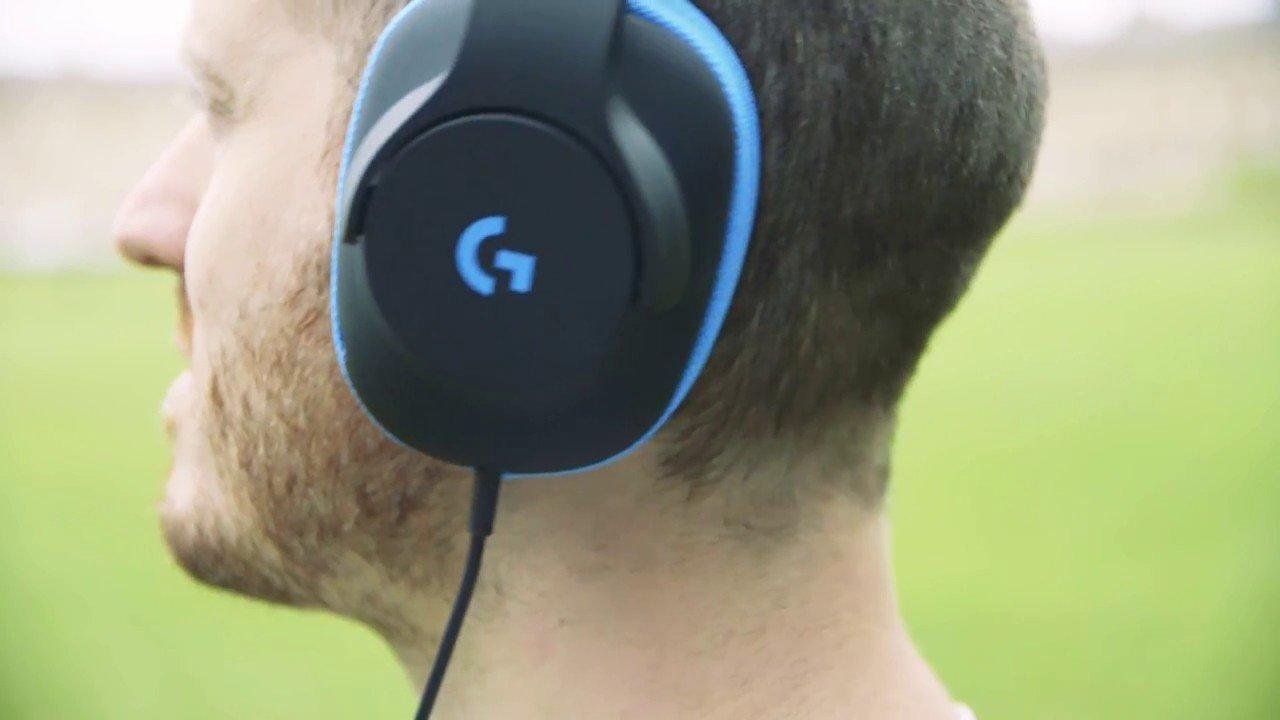 7f975aeb2c8 Logitech G233 Prodigy Gaming Headset, Headset black/blue, Game ...