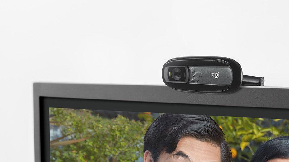 e0323b99964 Logitech Webcam C170 - Web camera - colour - 1024 x 768 - fixed ...