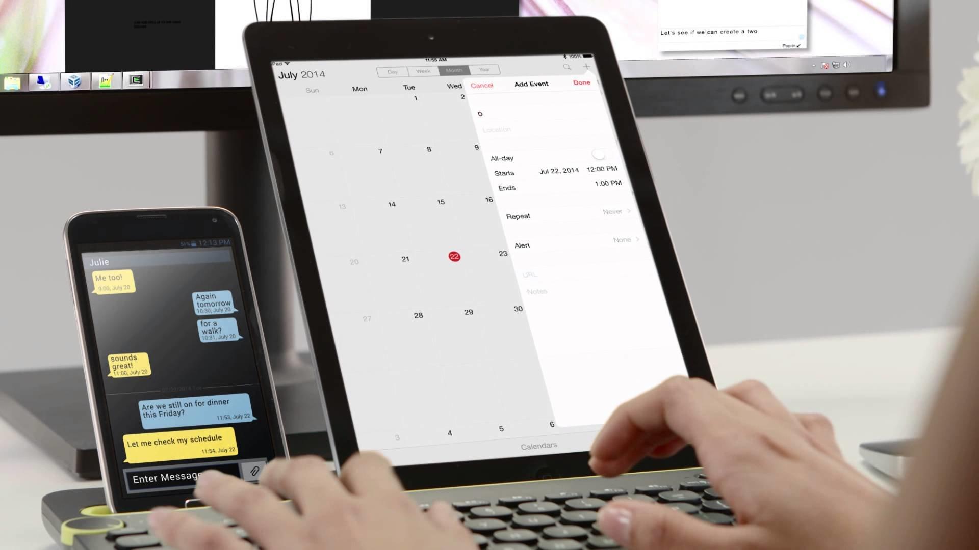 Bluetooth MultiDevice Keyboard K480