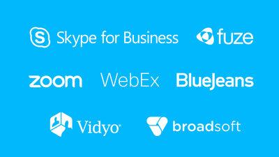 Kompatibel med de flesta videokonferensprogram