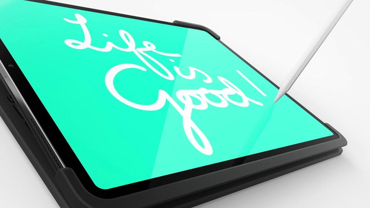 Logitech SLIM FOLIO PRO iPad 12.9inch ND Tastatur