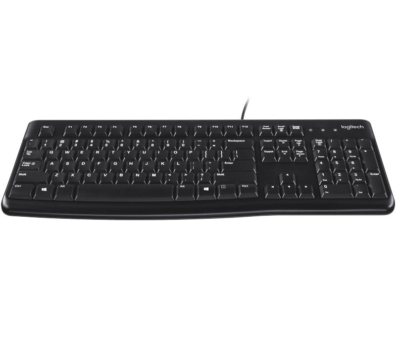 Logitech K120 Tangentbord (nordiskt) - Hemelektronik - CDON.COM 30e1c30148cb7