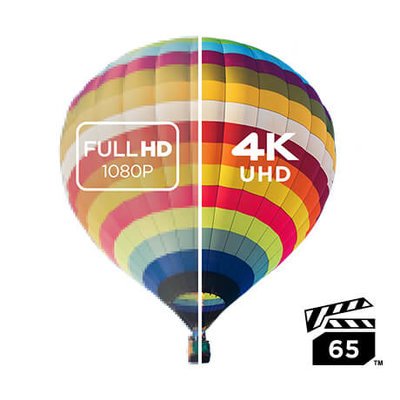 Uninterrupted 4K UHD Video with VPG-65