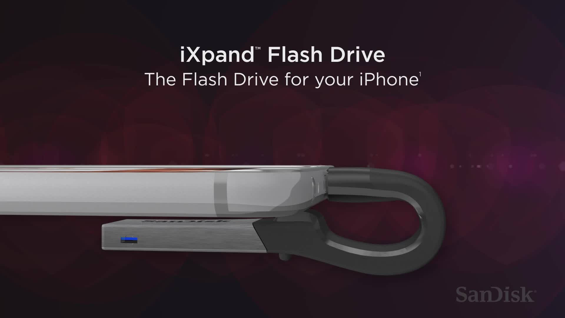 Buy Sandisk Ixpand 64gb Flash Drive For Iphone And Ipad Usb 64 Gb Computers Silver Slide 1 Of 4show Larger Image