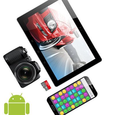 适用于Android™智能手机和平板电脑