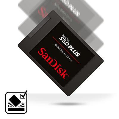 SanDisk SSD Plus 120GB Internal SSD - SATA III 6Gb/s, 2 5
