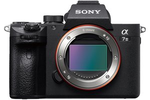 α7 III with 35-mm full-frame image sensor