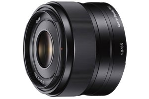 Objectif E 35mm F1.8 OSS