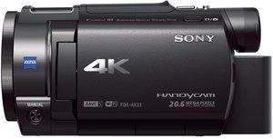 AX33 4K Handycam<sup>®</sup> with Exmor R<sup>®</sup> CMOS sensor