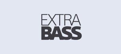 EXTRA BASS <sup> ™ </sup> pour un son percutant d'une profondeur impressionnante