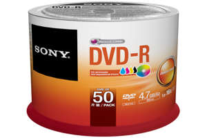 50pk DVD-R, printable, spindle