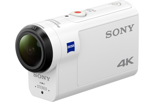 FDR-X3000 4K Action Cam with Wi-Fi<sup>®</sup> & GPS