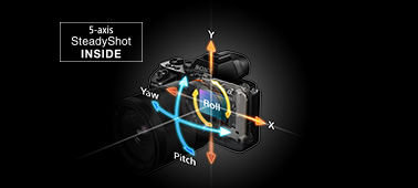 5-axis image stabilization