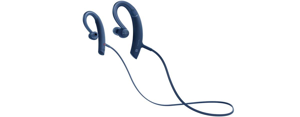 SONY MDR-XB80BS/L Blue Wireless Sports Bluetooth® In-ear Headphones