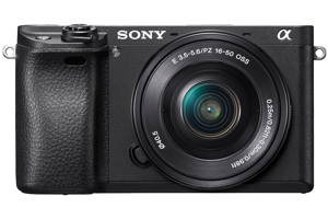 α6300 E-mount camera with APS-C Sensor