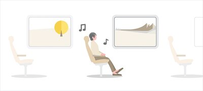 Adaptive Sound Control automatically adjusts to whatever you do