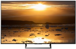 "49"" (123 cm) Motionflow XR 240 (Native 60 Hz), Black bezel, Gunmetal U Slate stand"