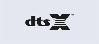 DTS:X<sup>1, 2</sup>