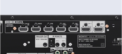 6 x HDMI inputs, 2 x HDMI outputs