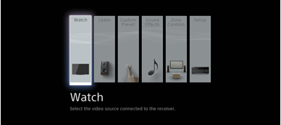 Simple control with a Graphic User Interface