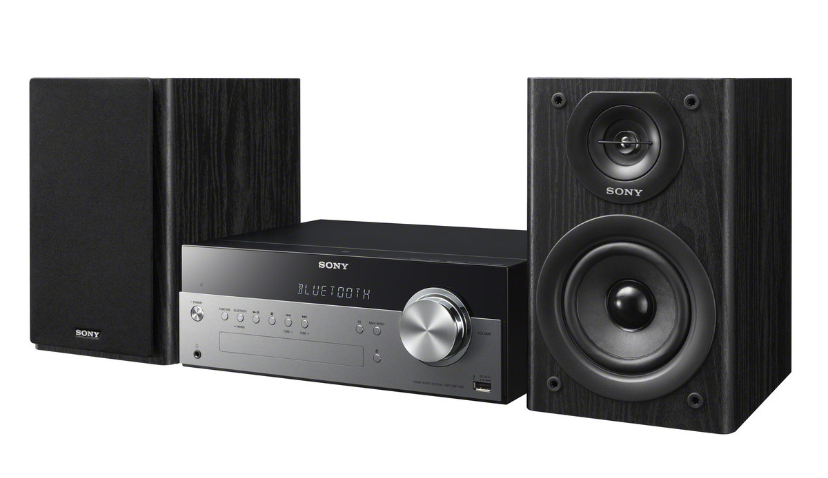 sony stereo system. slide 1 of 10,show larger image, micro music system w/bluetooth \u0026amp sony stereo k