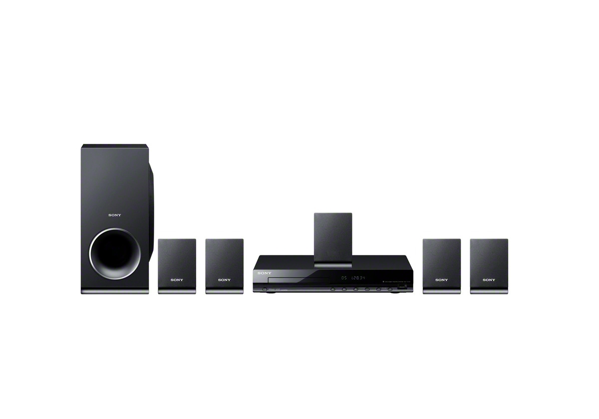 Sony DAV-TZ140 5.1 CH Home Theater Surround Sound System with DVD ...