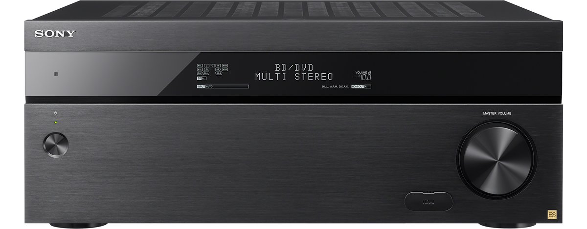 Sony Black 9 2 Channel 4K Home Theater A/V Receiver