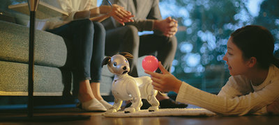 No two aibo robots are the same.