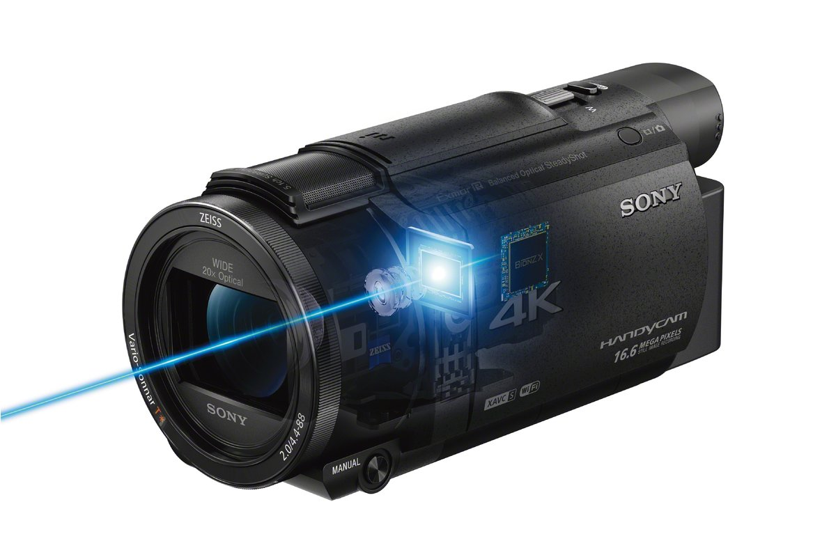 Sony Handycam Ax53 4k Flash Memory Camcorder Camcorders Best Buy Drive 5 Car Stereo Manual Canada