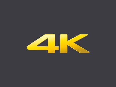 4K quality from source to screen<sup>1</sup>
