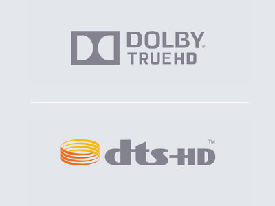 Dolby<sup>®</sup> TrueHD & DTS-HD<sup>®</sup> Master Audio<sup>1</sup>