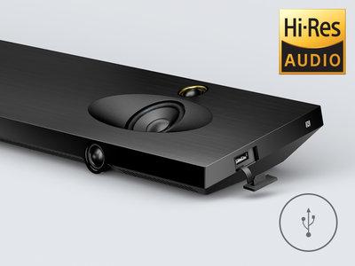 Hi-Res Audio playback via USB