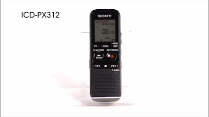 sony icd px312 digital voice recorder by office depot officemax rh officedepot com Sony ICD-PX312 Software Sony Recorder ICD-PX312 Manual