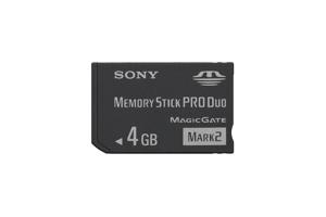 4GB Memory Stick PRO Duo Media
