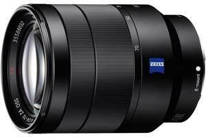 Vario-Tessar T* FE 24-70mm F4 ZA OSS Full-frame E-mount Zoom Lens