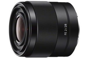 FE 28mm F2 Full-frame E-mount Prime Lens