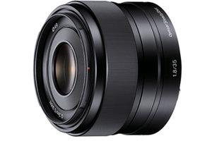 E Mount : 35mm f/1.8 Prime Lens