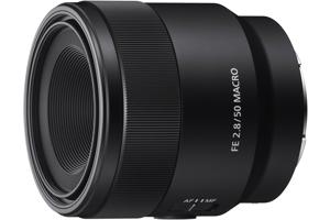 FE 50mm F2.8 Full-frame E-mount Macro Lens
