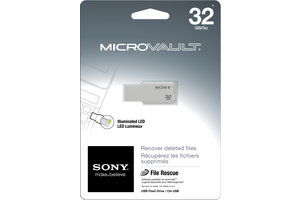 32GB MicroVault USB Flash Drive