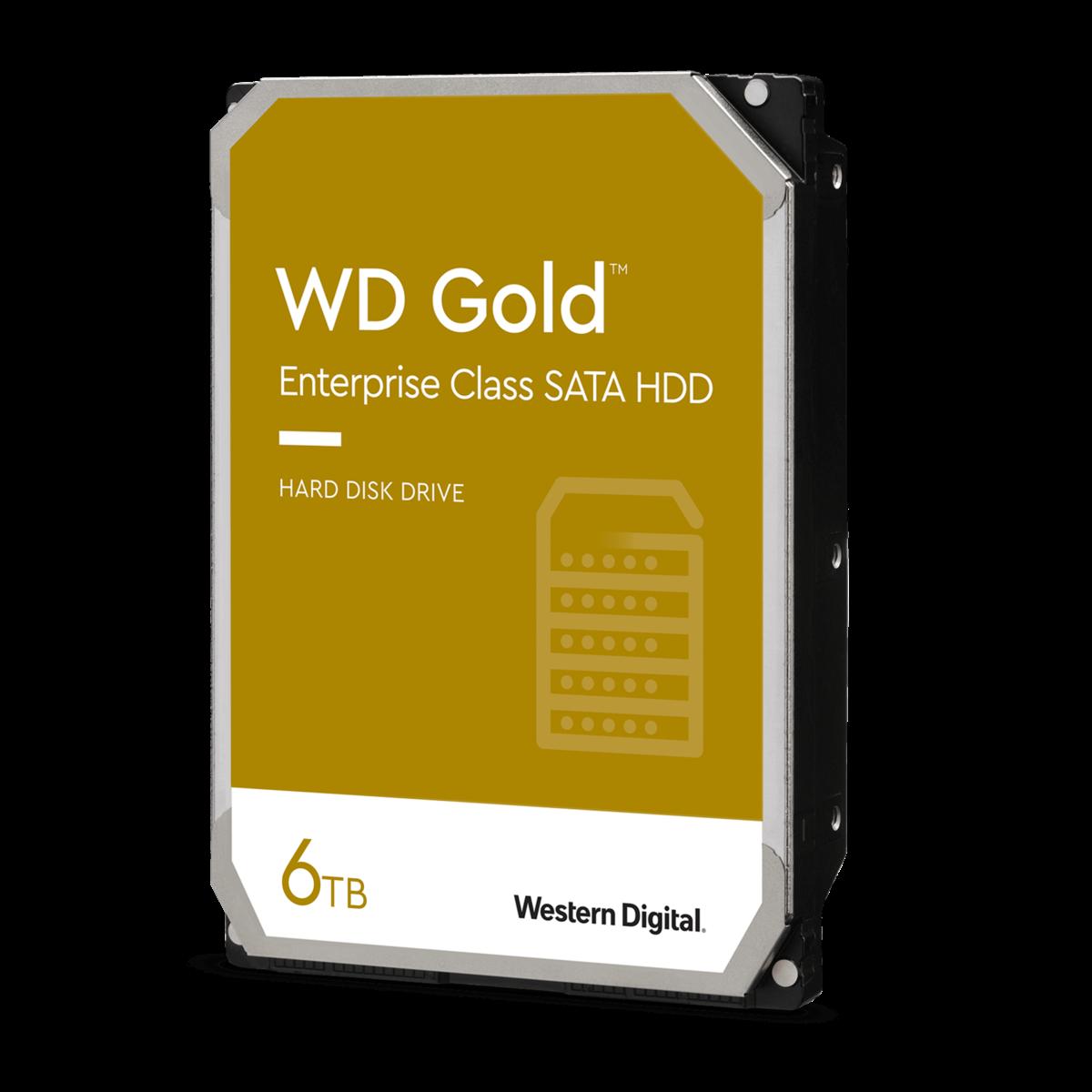 diapositiva 1 de 1,aumentar tamaño, wd gold<sup>™</sup> enterprise class sata hdd 6tb