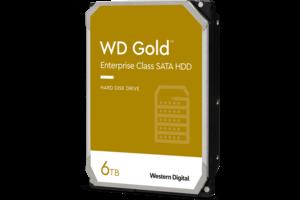 WD Gold<sup>™</sup> Enterprise Class SATA HDD 6TB
